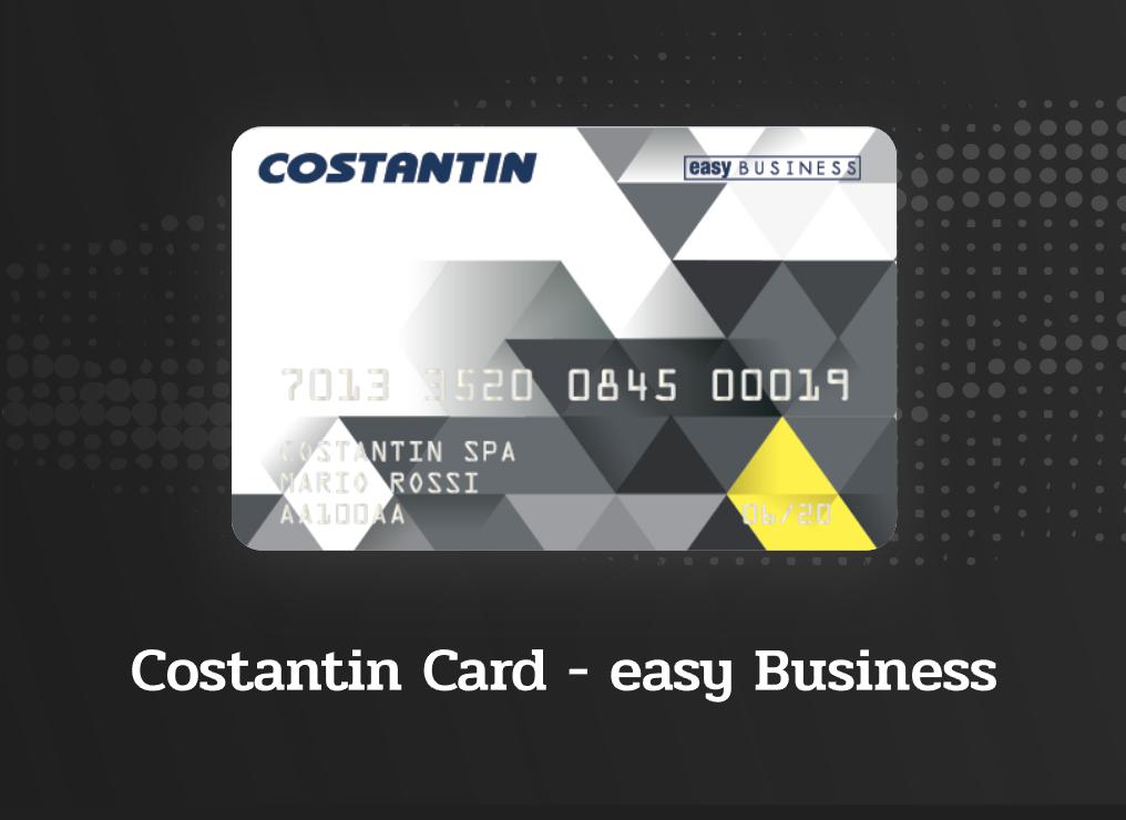 Costantin card